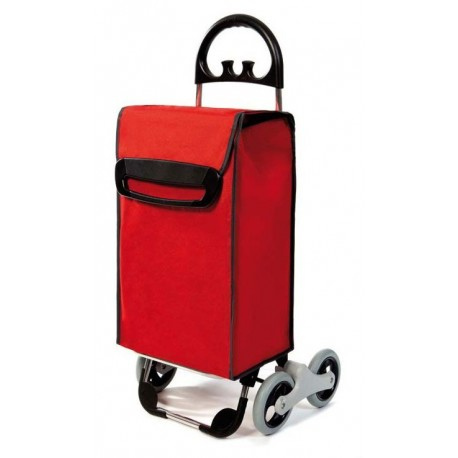 Wózek na zakupy Aurora Avanti 4 Czerwony