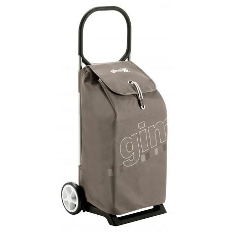 Wózek na zakupy Gimi Italo Brązowy