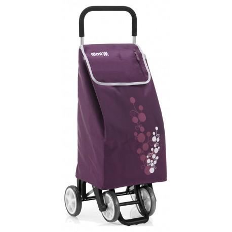 Wózek na zakupy Gimi TWIN Fioletowy