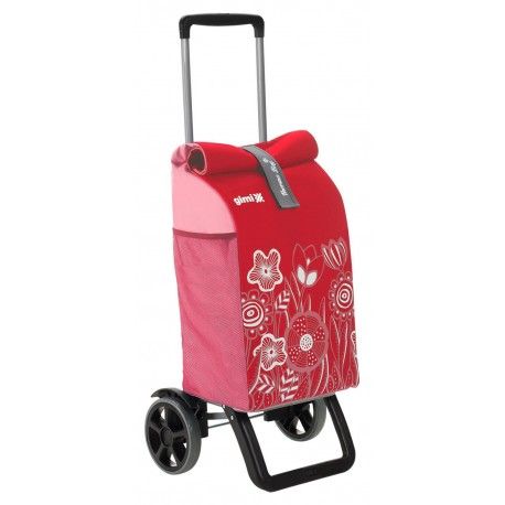 Wózek na zakupy Gimi Rolling Thermo Czerwony