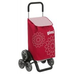 Wózek na zakupy Gimi TRIS Czerwony