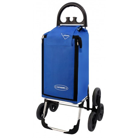 Wózek na zakupy Aurora Amalfi Click Niebieski