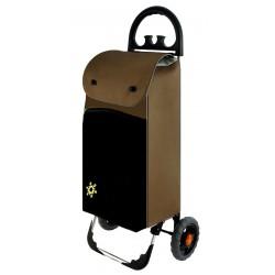 Wózek na zakupy Aurora Bolzano Brązowy