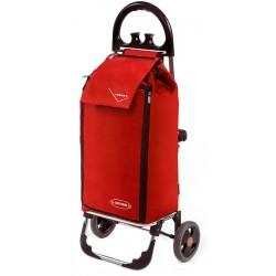 Wózek na zakupy Aurora Freezer Click Czerwony