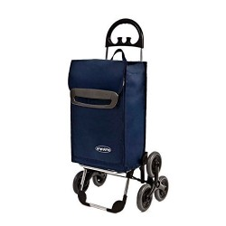 Wózek na zakupy Aurora Ischia Granatowy