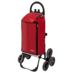 Wózek na zakupy Aurora AMALFI CLICK Czerwony