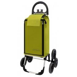 Wózek na zakupy Aurora AMALFI CLICK Zielony