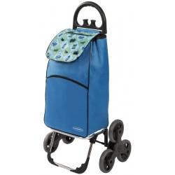 Wózek na zakupy Aurora Parigi Niebieski