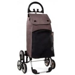 Wózek na zakupy Aurora PARIS Brązowy