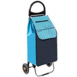 Wózek na zakupy Aurora Rio Niebieski