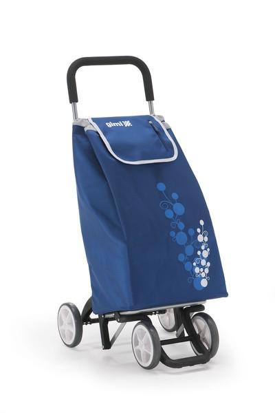 Wózek na zakupy z 4 kołami Gimi Twin Granatowy