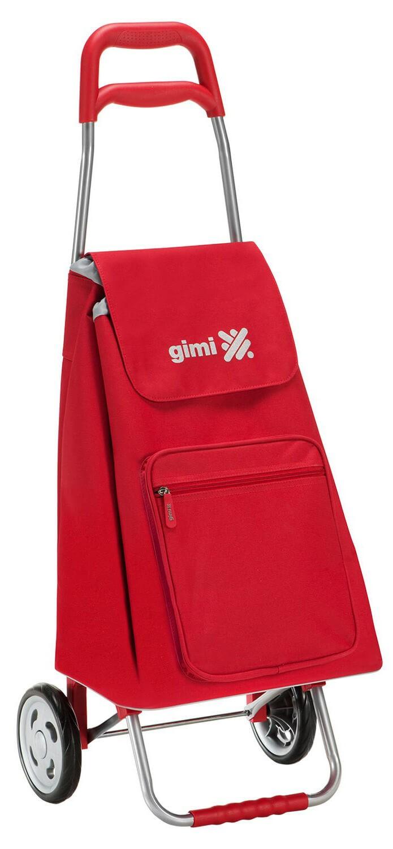 Wózek na zakupy Gimi Argo Czerwony