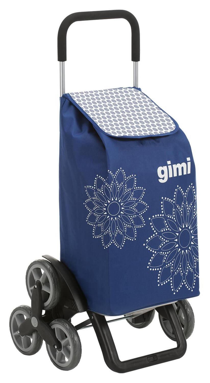 6 kołowy wózek na zakupy Gimi Tris Niebieski
