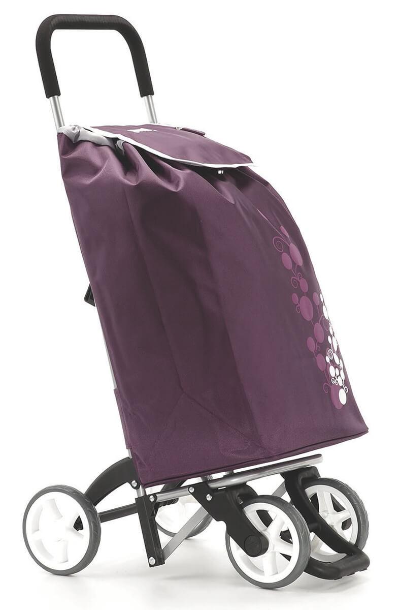 Granatowy wózek na zakupy Gimi Twin Granatowy