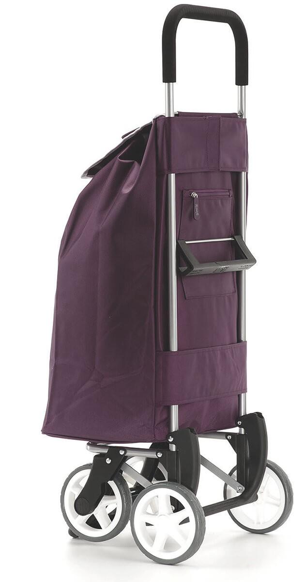 Tył wózka na zakupy Gimi Twin Granatowy