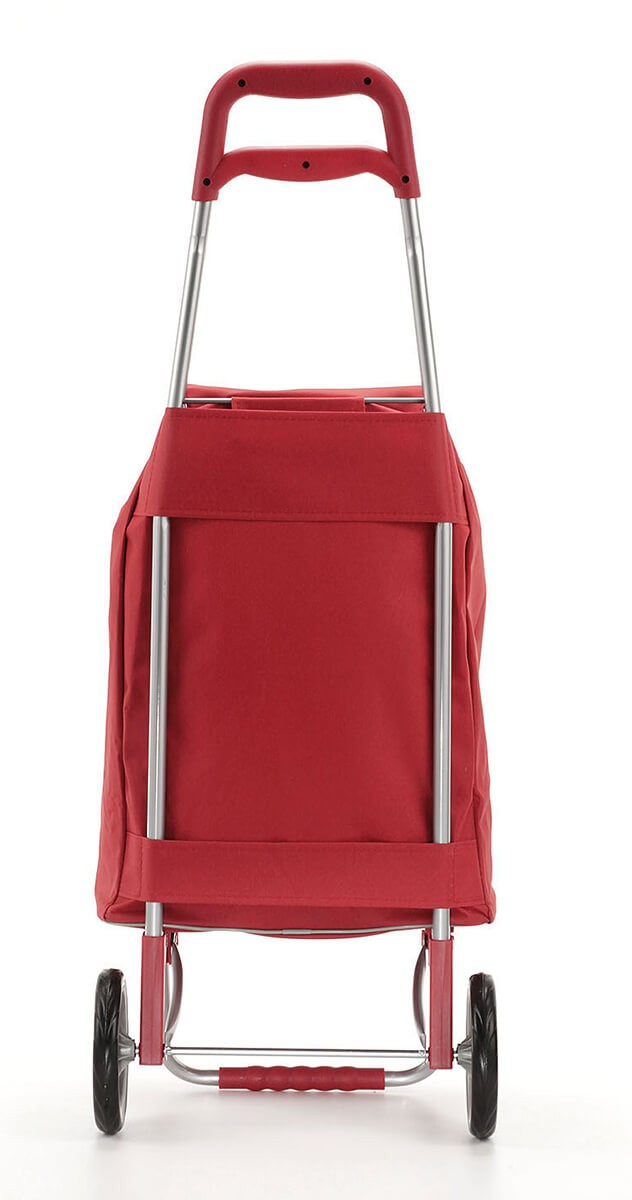 Tył wózka na zakupy Gimi Argo Czerwony