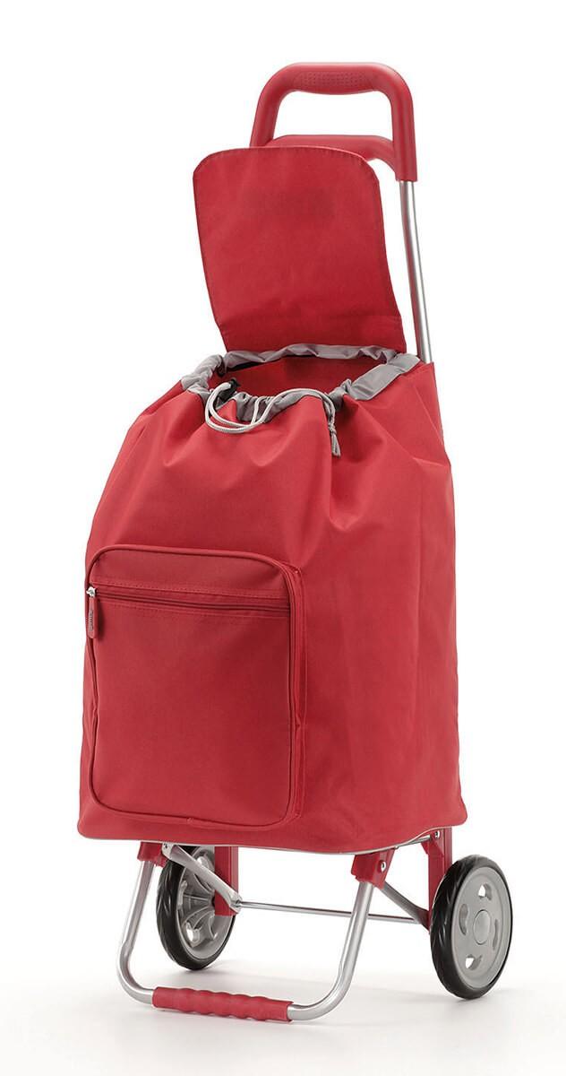 Otwarty Wózek na zakupy Gimi Argo Czerwony