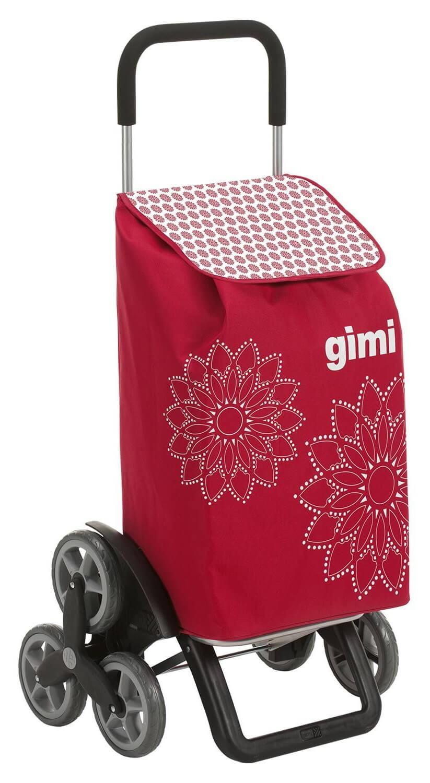 6 kołowy wózek na zakupy Gimi Tris Czerwony