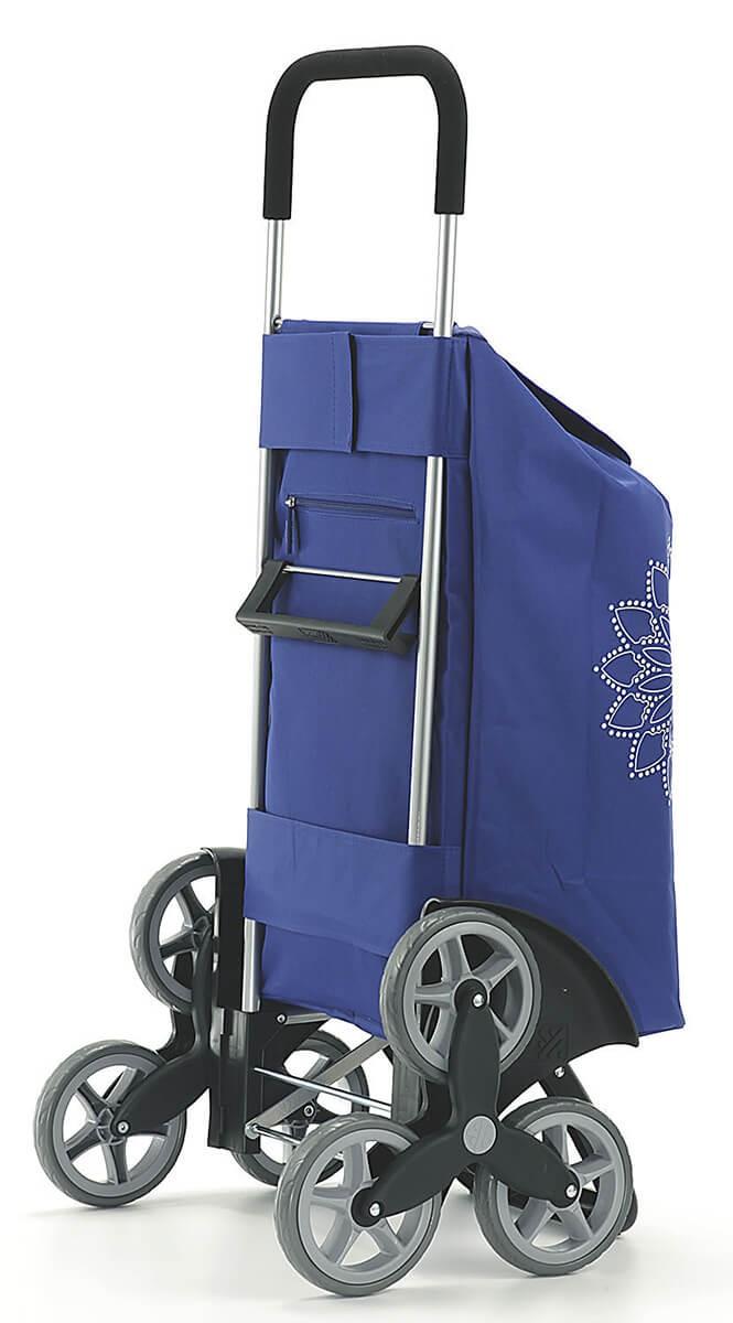 Stylowy wózek na zakupy Gimi Tris Niebieski