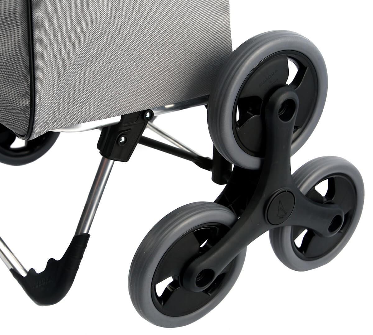 Wózek na zakupy Aurora VERONA Szara