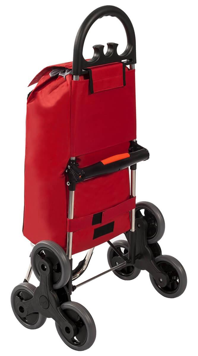 Tył wózka na zakupy Aurora Amalfi Click Czerwony
