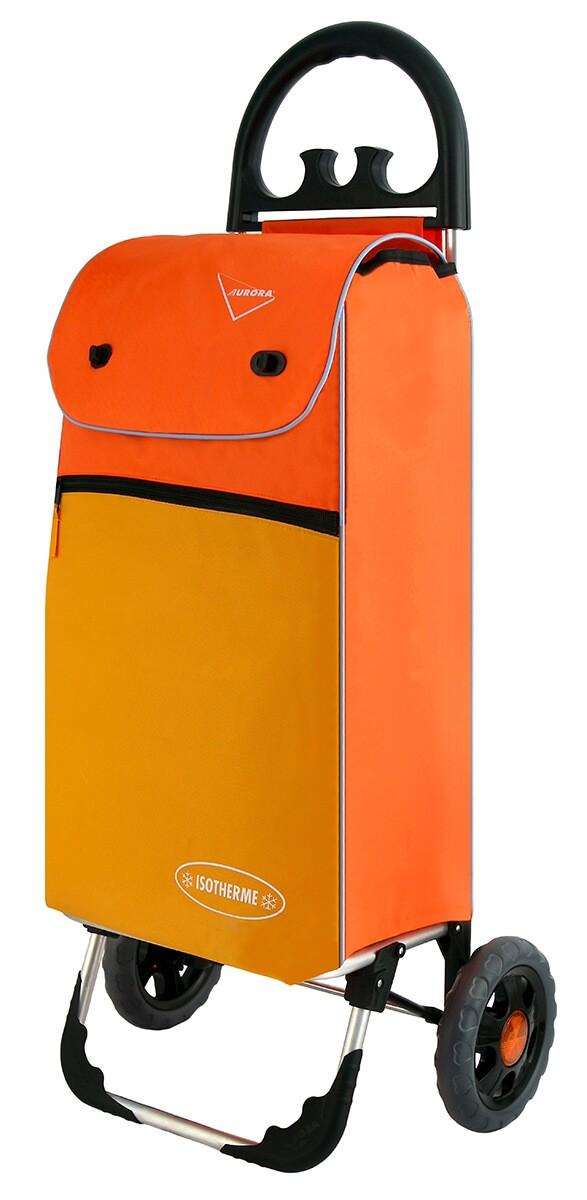 Wózek na zakupy Aurora Bolzano Pomarańczowy
