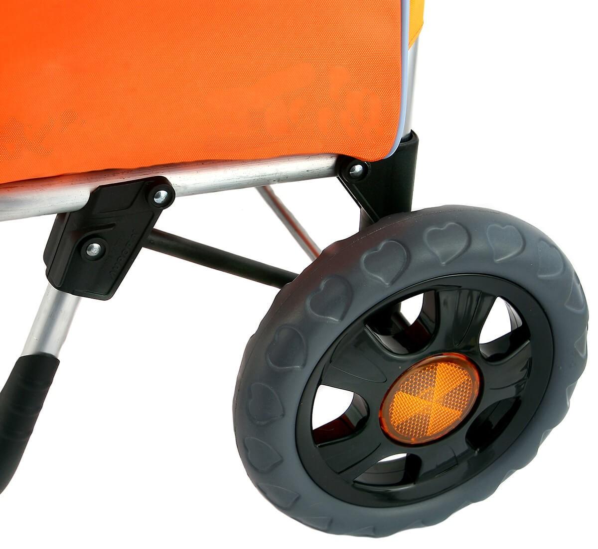 Koła wózka na zakupy Aurora Bolzano