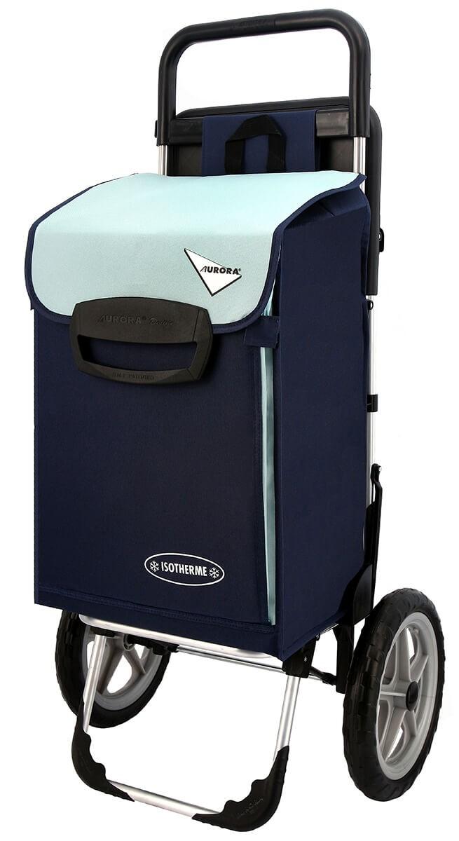 Wózek na zakupy Aurora Relax Granatowy