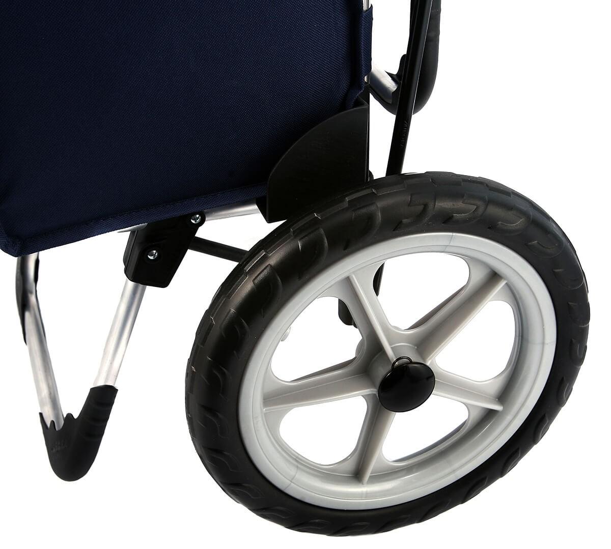 Koła wózka na zakupy Aurora Relax Granatowy