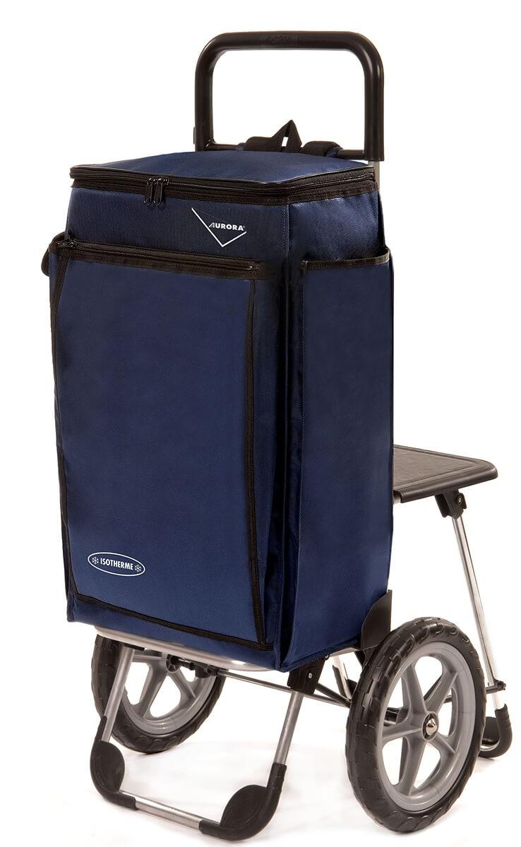 Wózek na zakupy Aurora Picnic Pescatore Granatowy Piknikowy